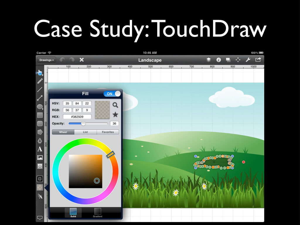Case Study: TouchDraw