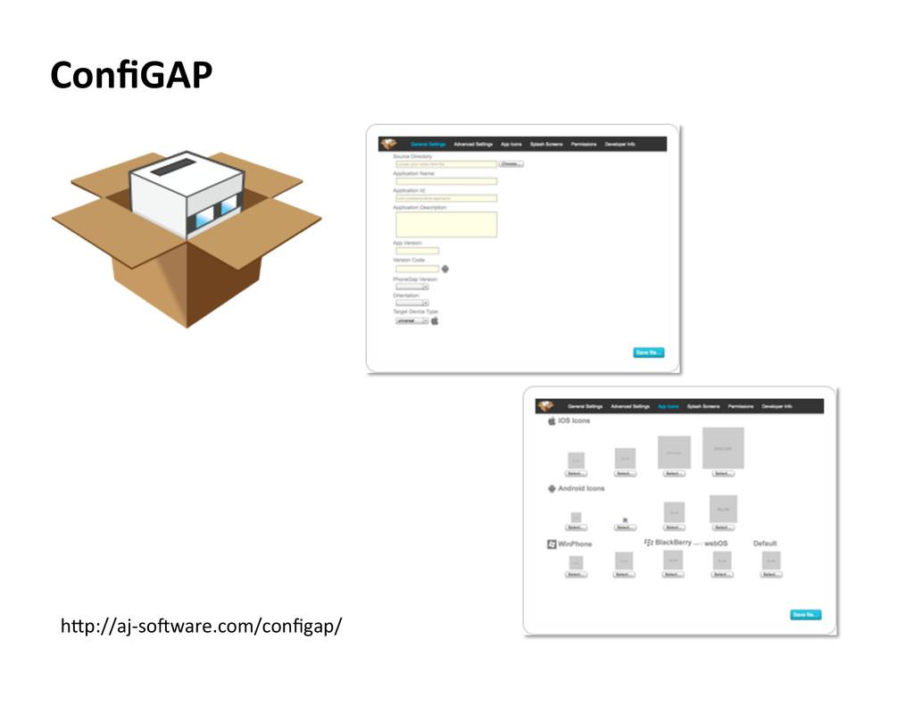 ConfiGAP  hLp://aj-‐soYware.com/configap/