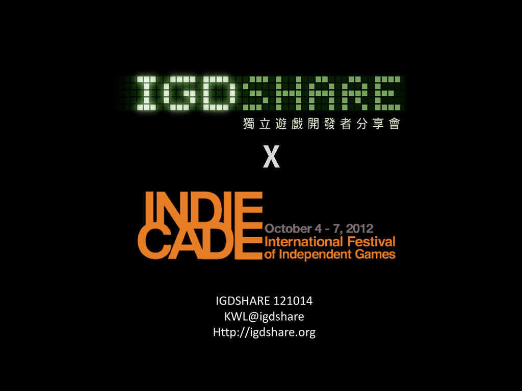 IGDSHARE 121014 KWL@igdshare Http://igdshare.org