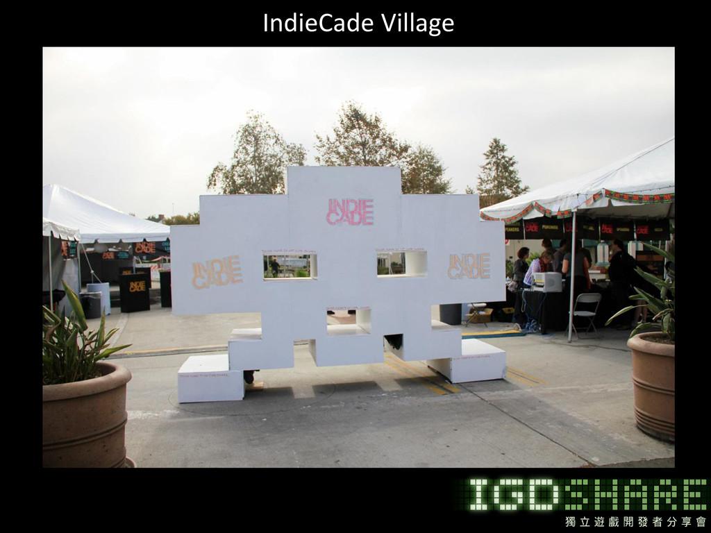 IndieCade Village
