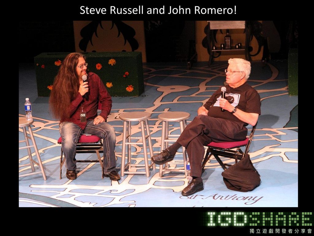 Steve Russell and John Romero!