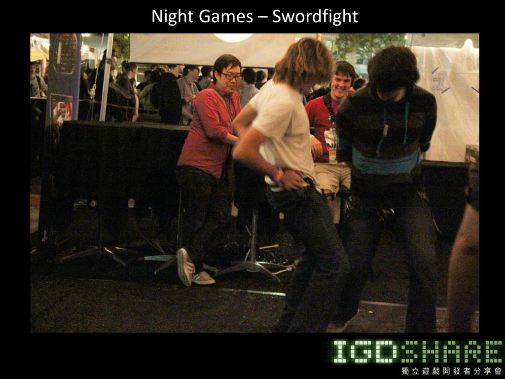 Night Games – Swordfight