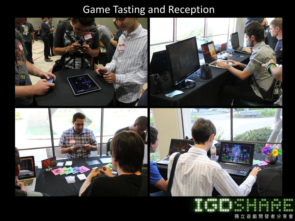Game Tasting and Reception