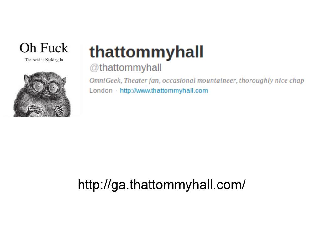 gog http://ga.thattommyhall.com/