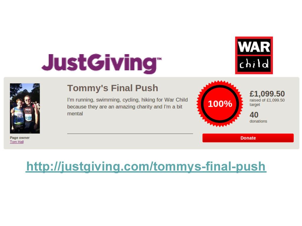 http://justgiving.com/tommys-final-push