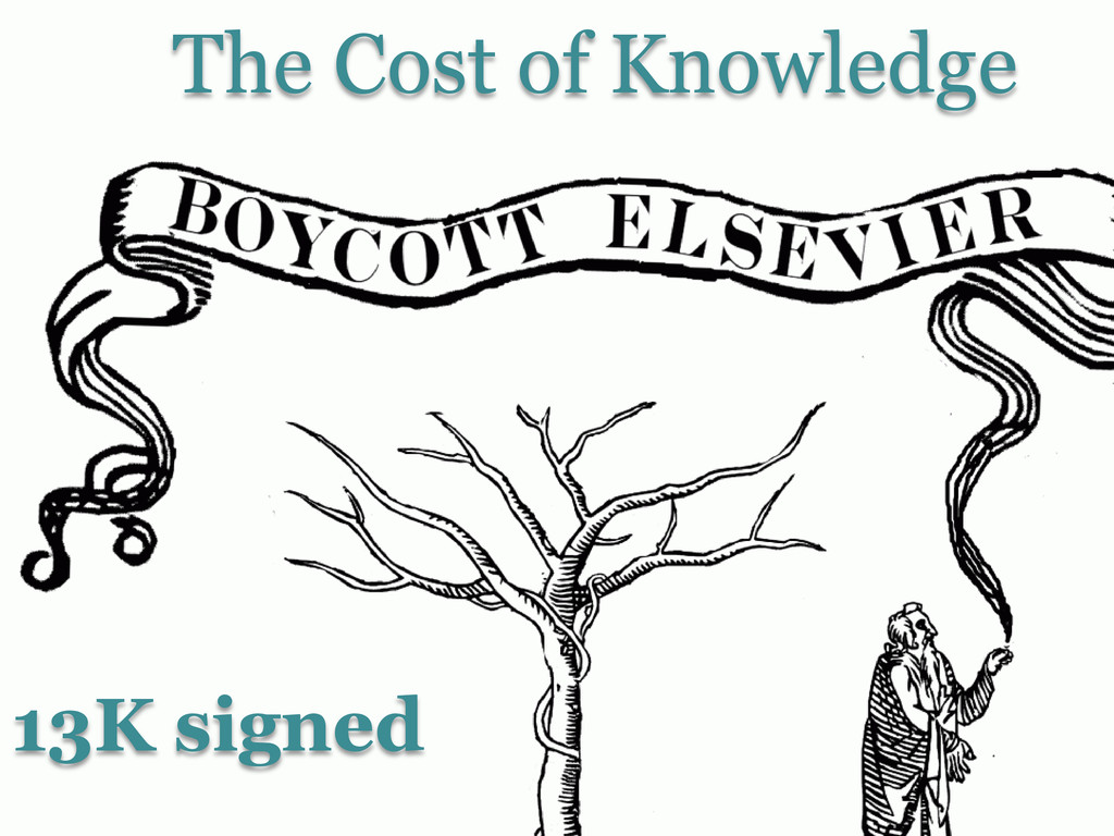 The Cost of Knowledge 13K signed