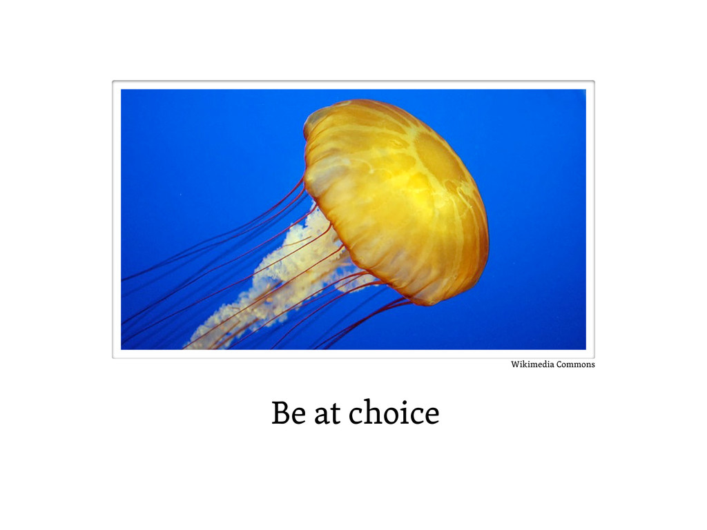Be at choice Wikimedia Commons