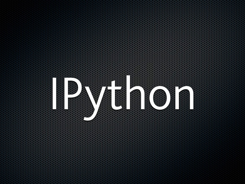 IPython