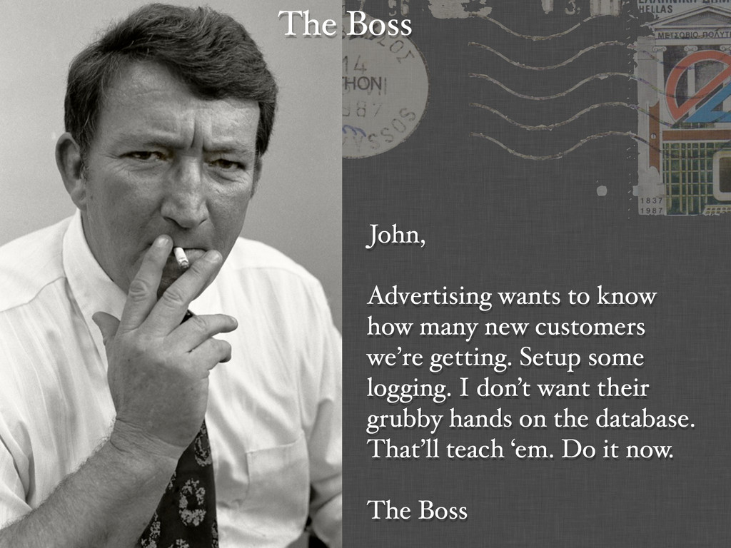 John, Advertising wants to know how many new cu...