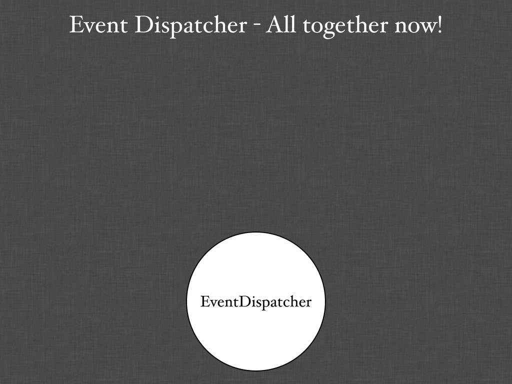 Event Dispatcher - All together now! EventDispa...