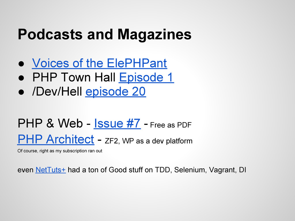 ● Voices of the ElePHPant ● PHP Town Hall Episo...