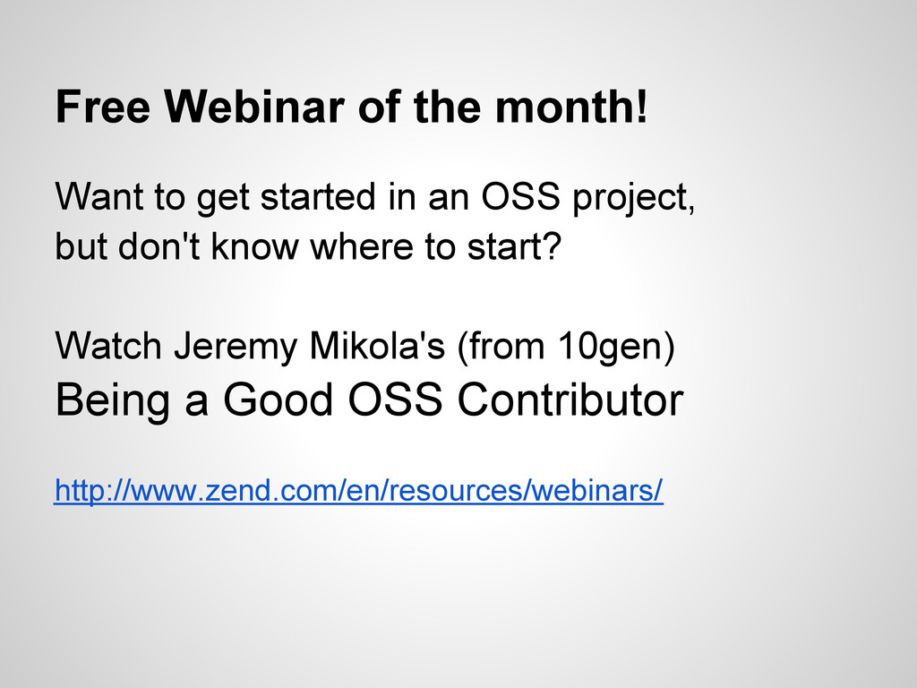 Free Webinar of the month! Want to get started ...
