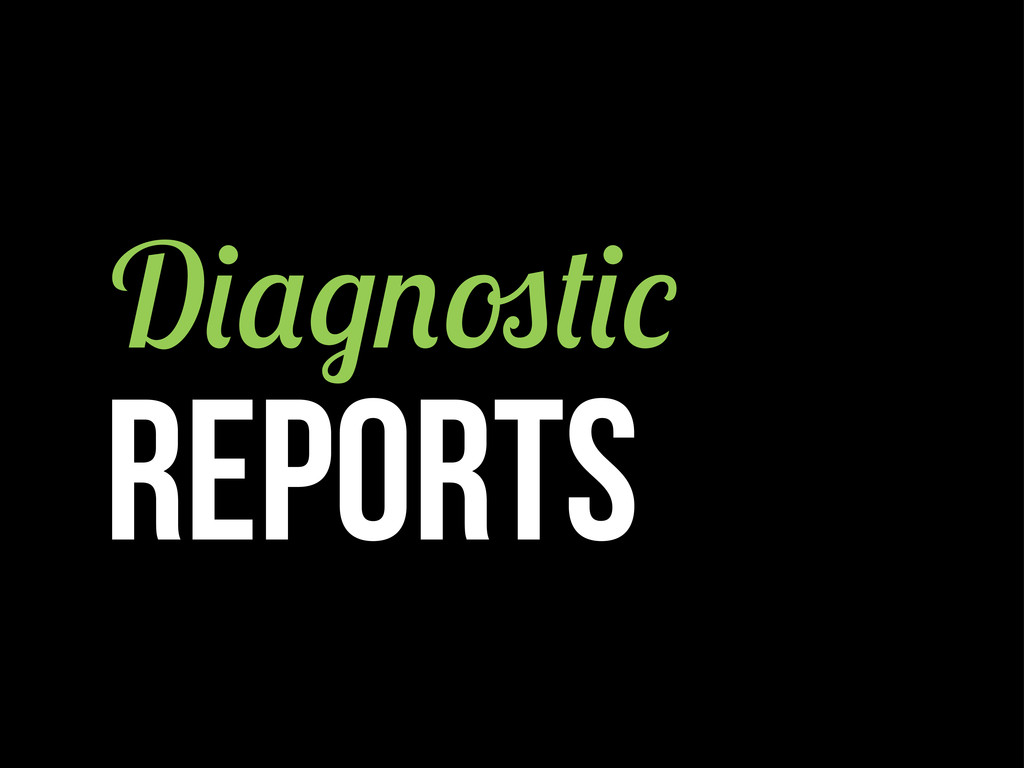 D REPORTS