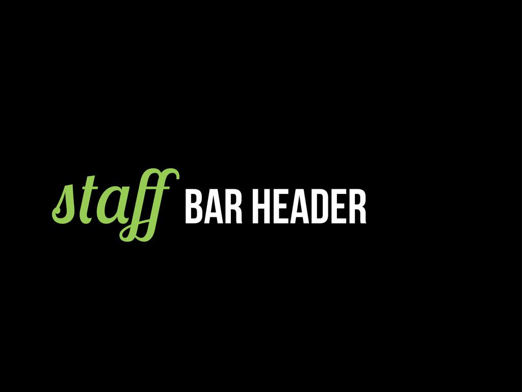 ff BAR header