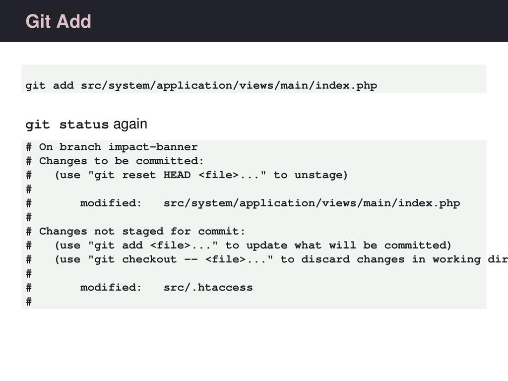 Git Add git add src/system/application/views/ma...