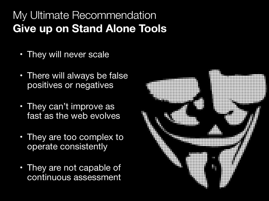 My Ultimate Recommendation Give up on Stand Al...