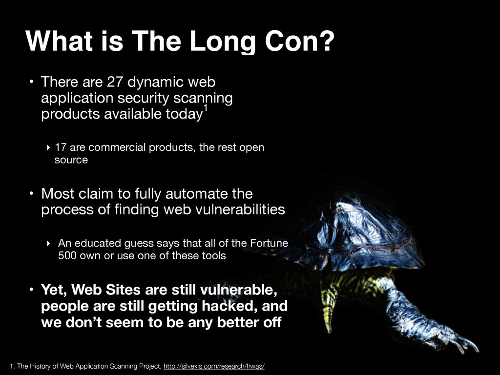 What is The Long Con? • There are 27 dynamic we...