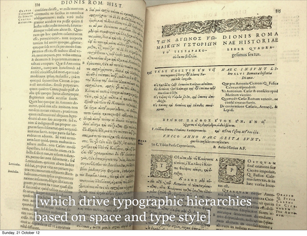 [which drive typographic hierarchies based on s...