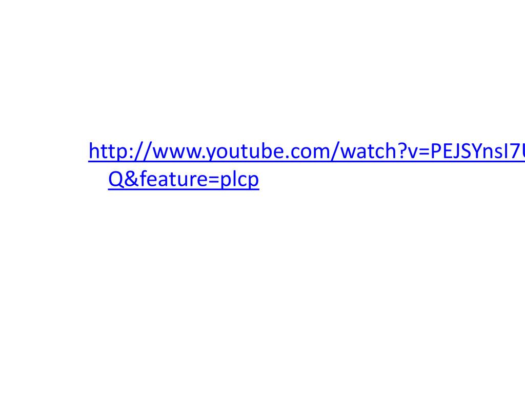 http://www.youtube.com/watch?v=PEJSYnsI7U Q&fea...