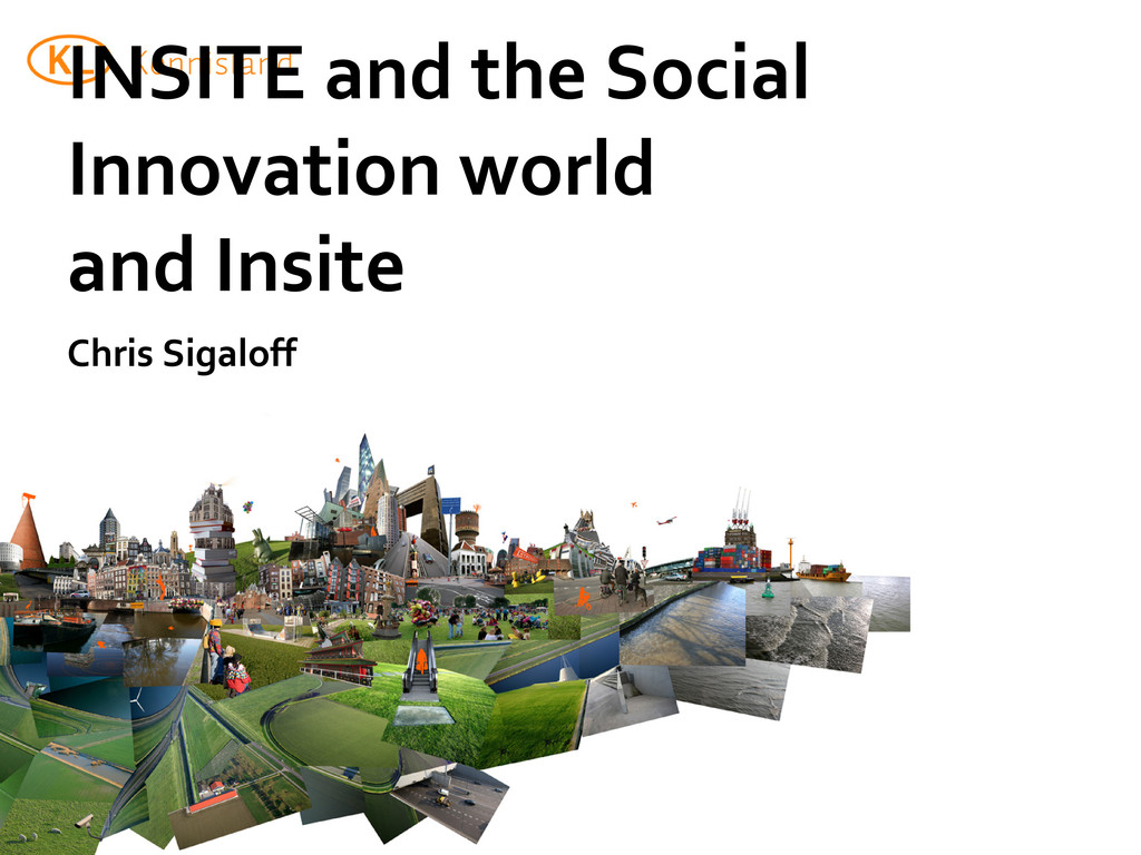 INSITE and the Social Innovation world and Insi...
