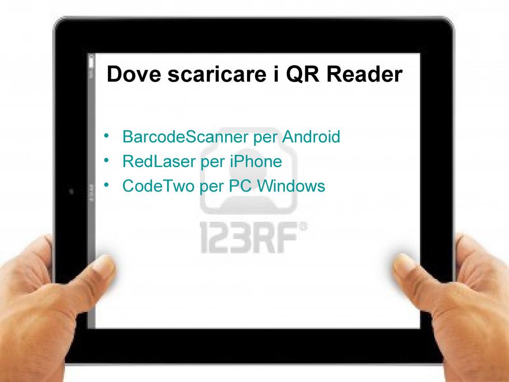15 Dove scaricare i QR Reader • BarcodeScanner ...