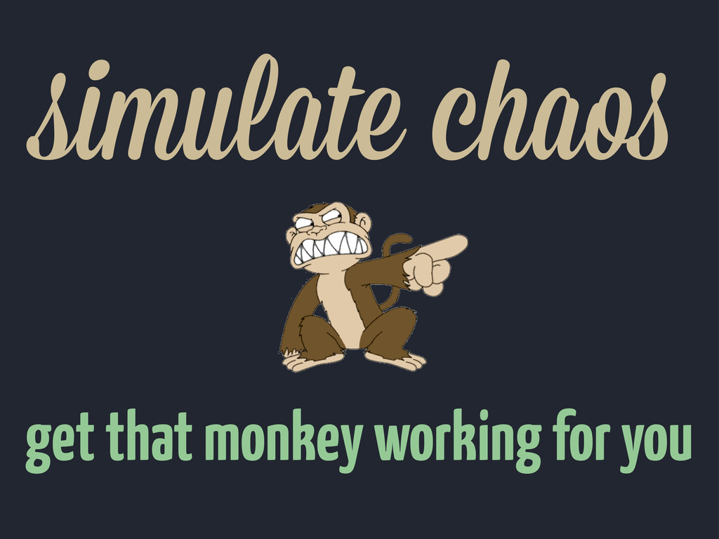 simulate chao get that monkey working for you