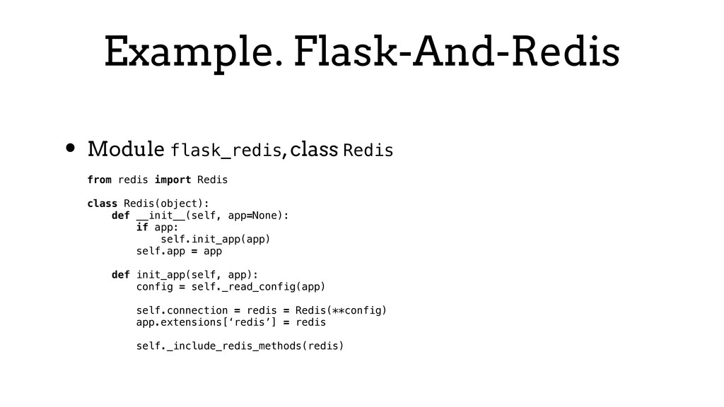 Example. Flask-And-Redis • Module flask_redis, ...