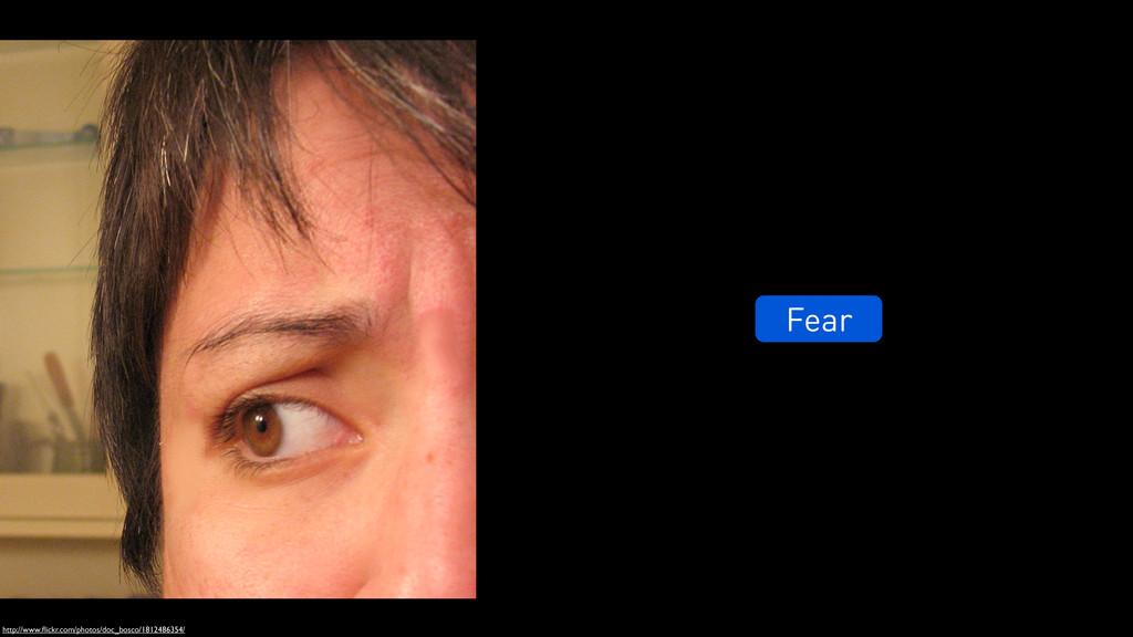 Fear http://www.flickr.com/photos/doc_bosco/1812...