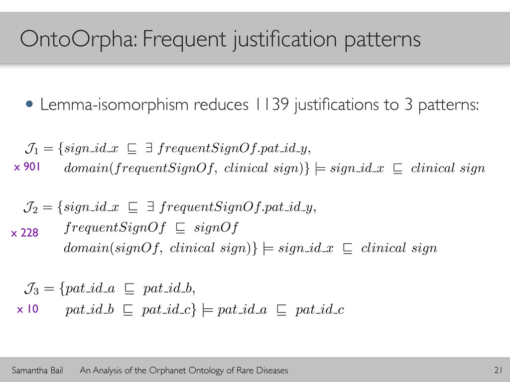 Samantha Bail An Analysis of the Orphanet Ontol...