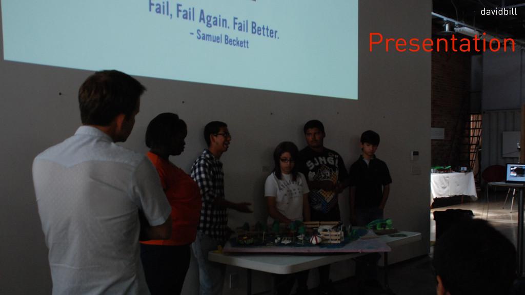 Presentation davidbill
