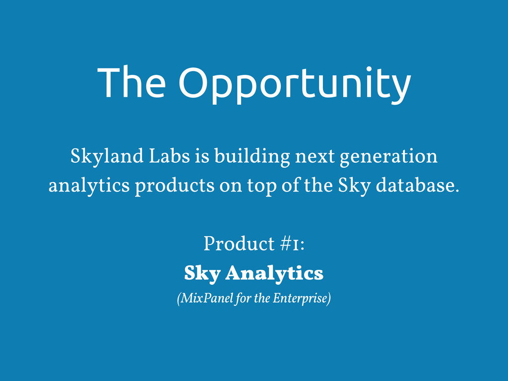 The Opportunity Skyland Labs is building next g...