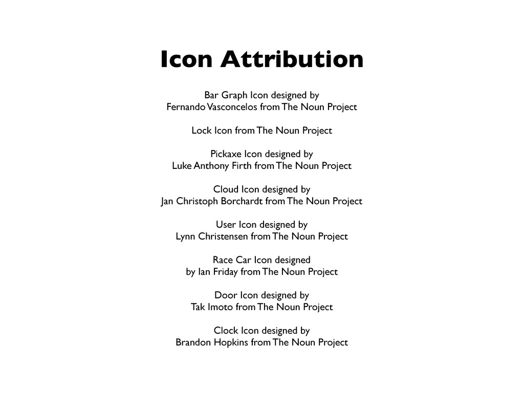 Icon Attribution Bar Graph Icon designed by Fer...