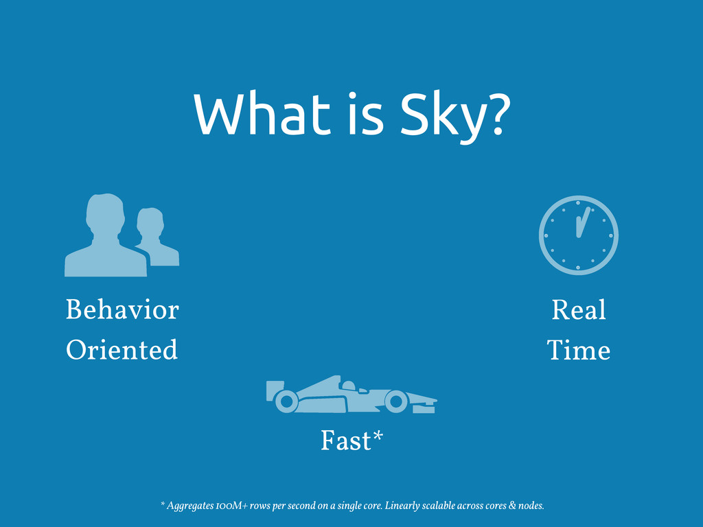 What is Sky? Behavior Oriented Fast* * Aggregat...