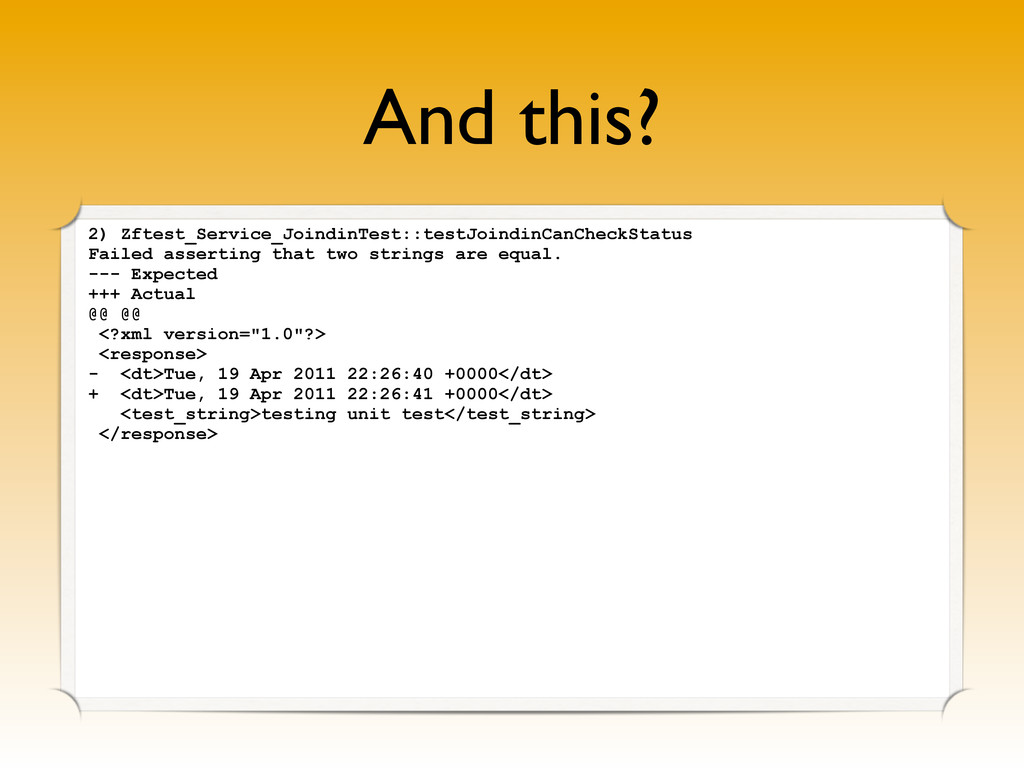 And this? 2) Zftest_Service_JoindinTest::testJo...