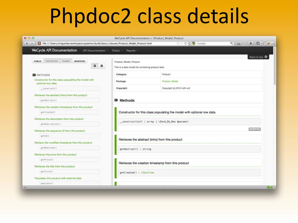 Phpdoc2 class details