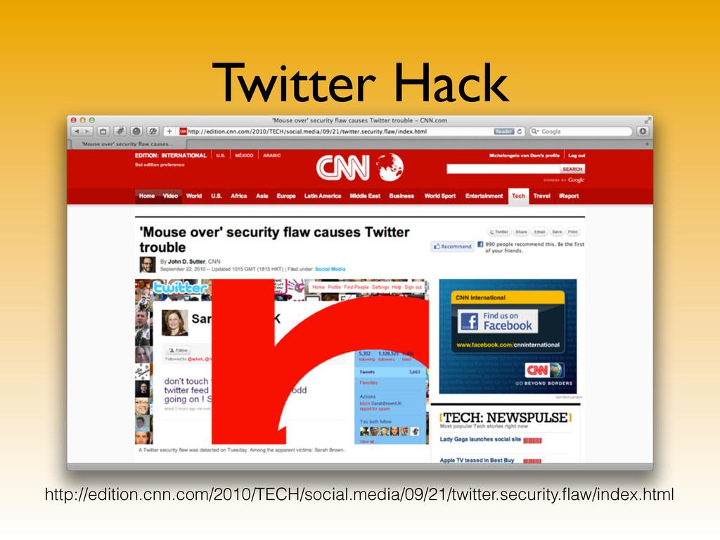 Twitter Hack http://xkcd.com/327/ http://editio...