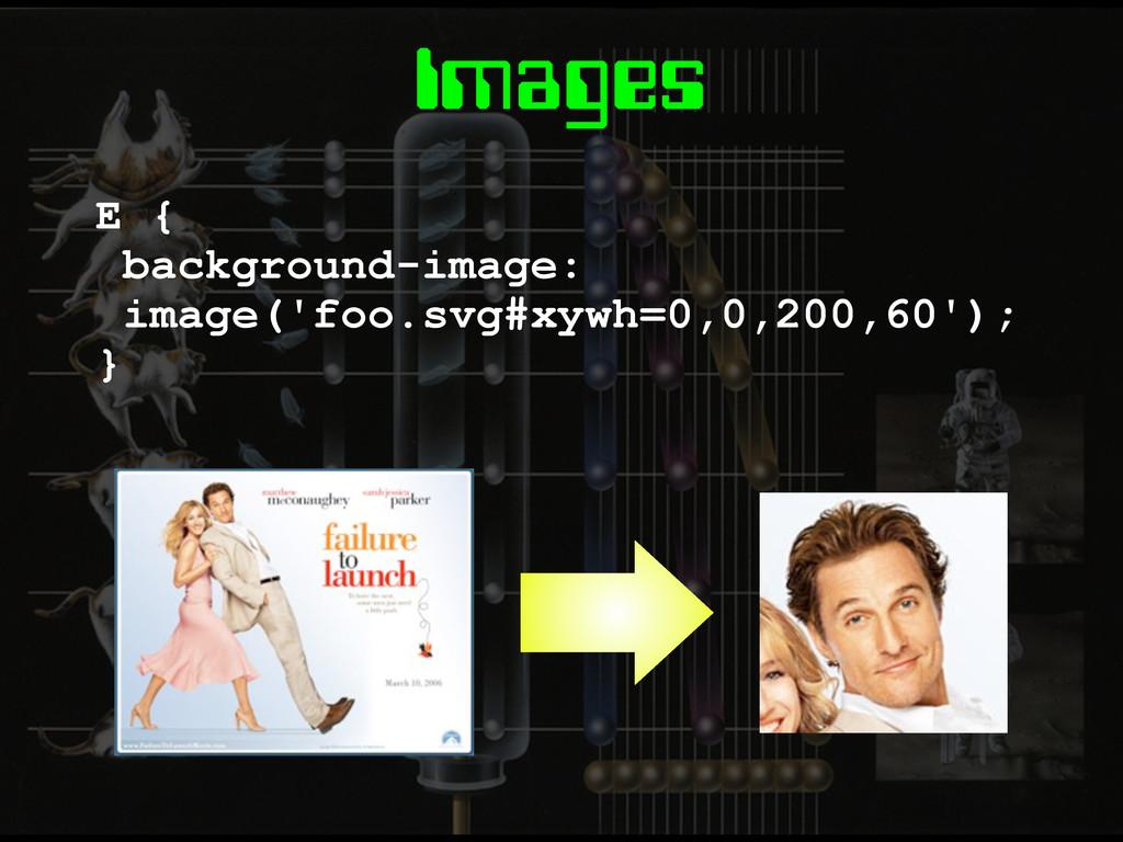 Images E { background-image: image('foo.svg#xyw...