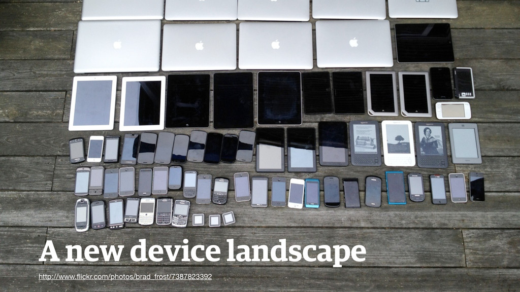 A new device landscape http://www.flickr.com/pho...