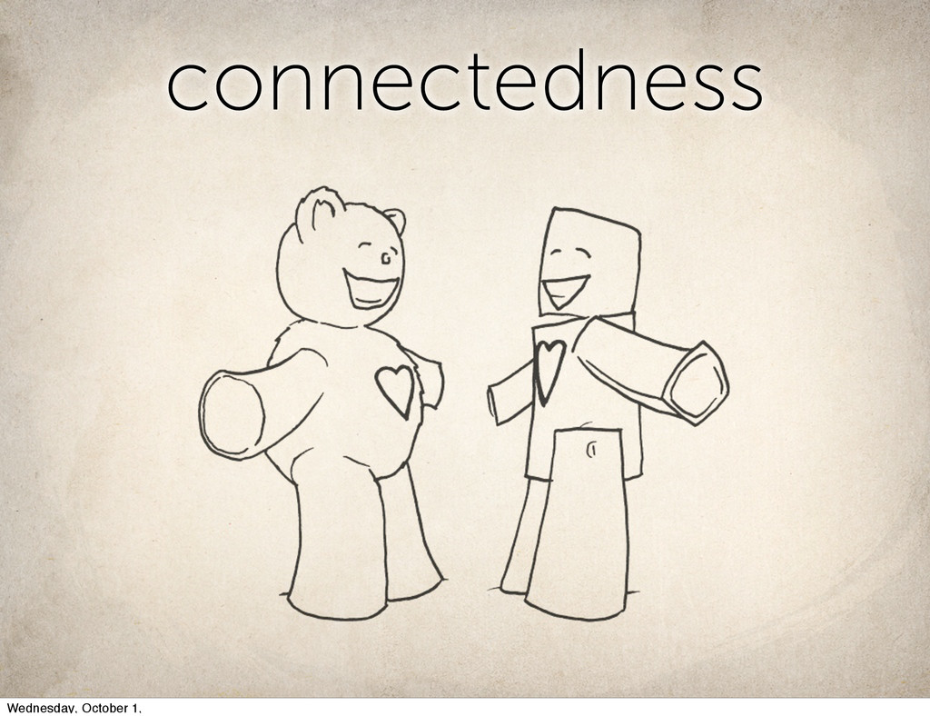 connectedness connectedness Wednesday, October ...