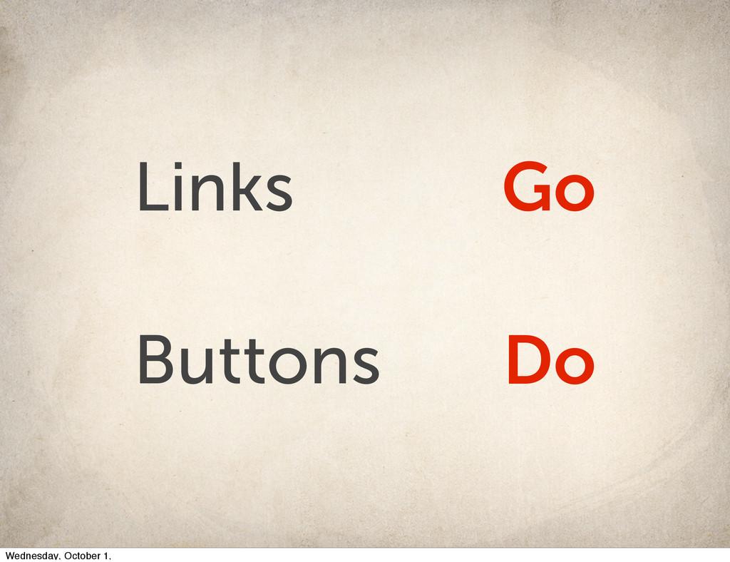 Links Go Buttons Do Wednesday, October 1,