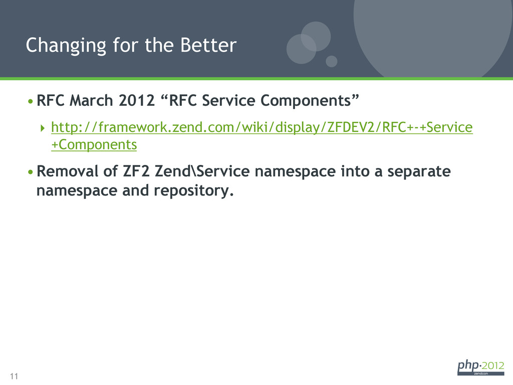 "11 •RFC March 2012 ""RFC Service Components"" ..."