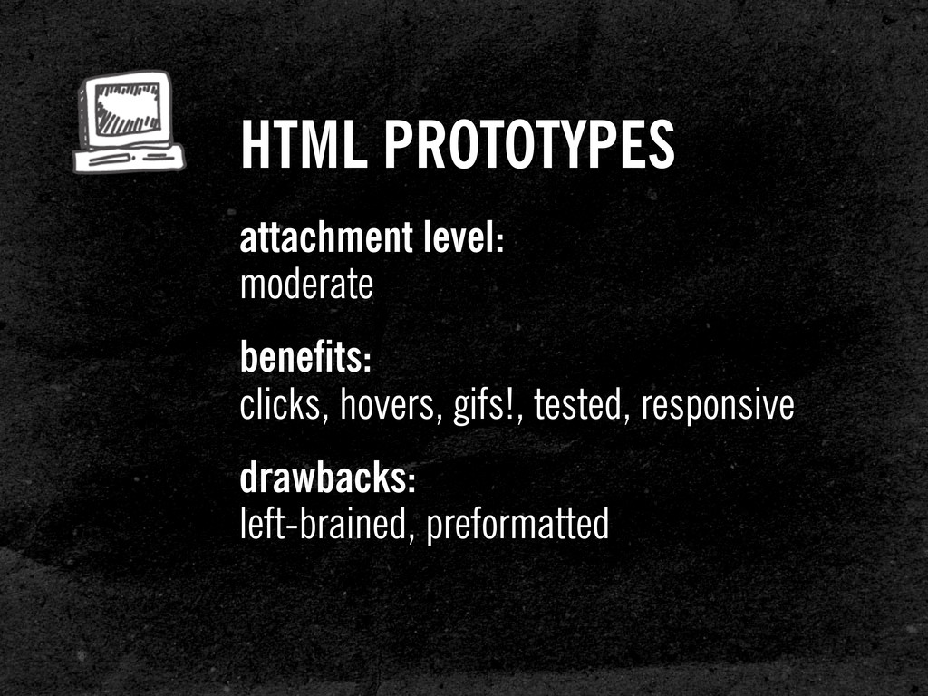 HTML PROTOTYPES attachment level: moderate bene...