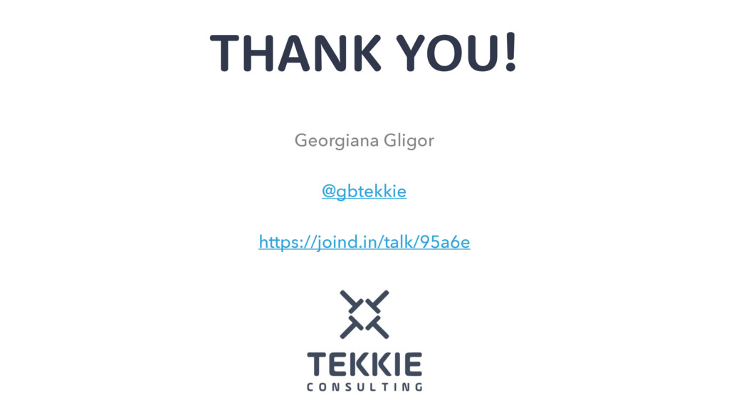 THANK YOU! Georgiana Gligor @gbtekkie https://j...