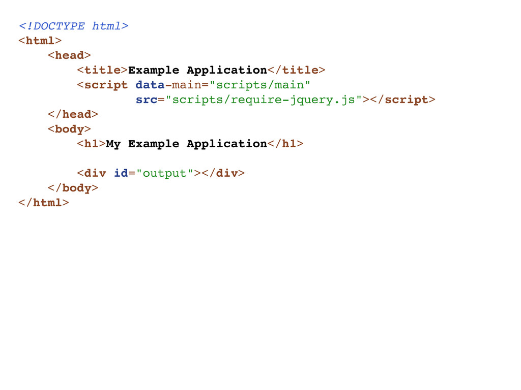 <!DOCTYPE html> <html> <head> <title>Example Ap...
