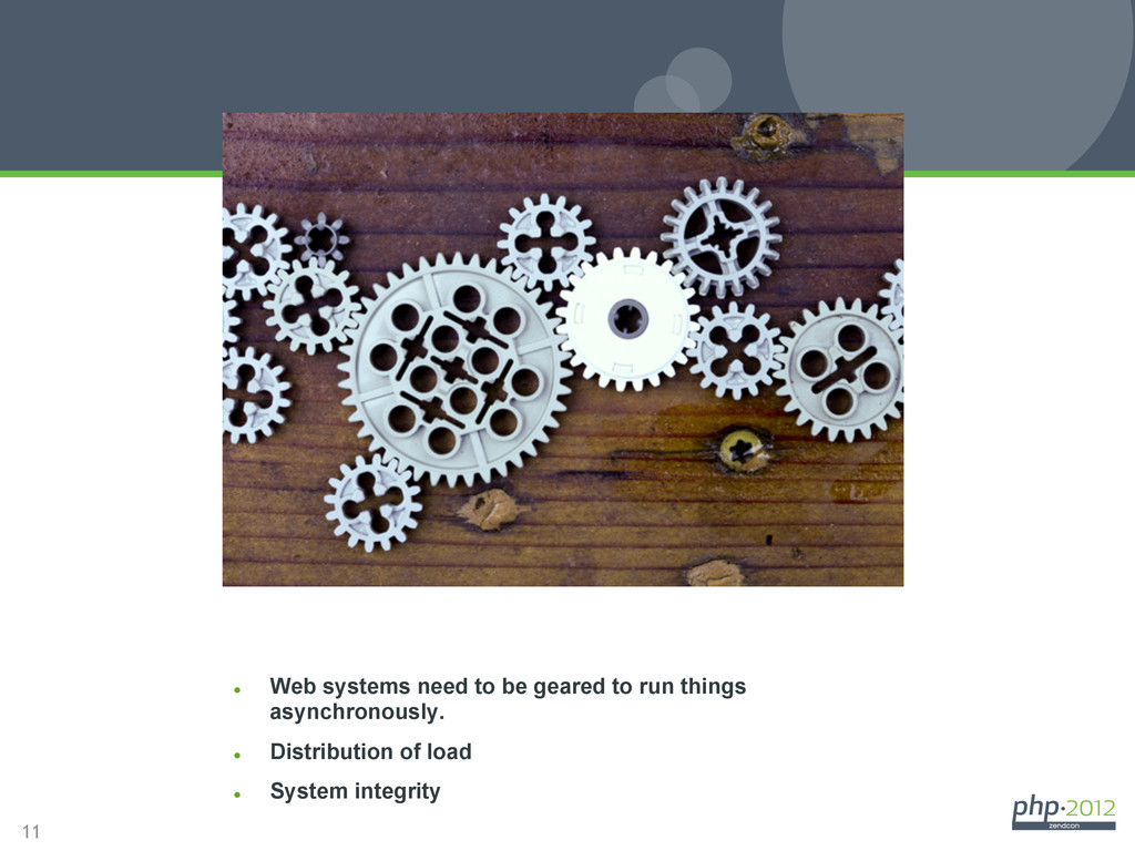 11 Why it matters l Web systems need to be ge...