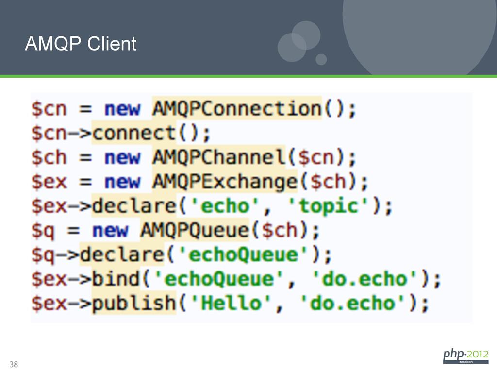 38 AMQP Client