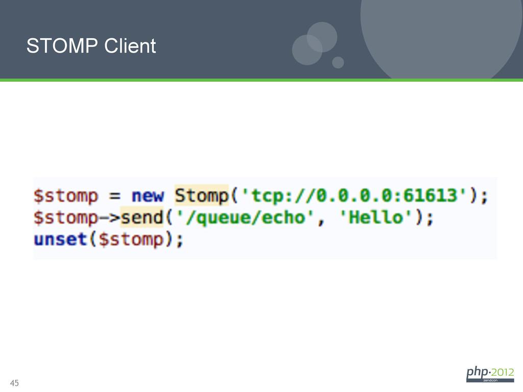 45 STOMP Client