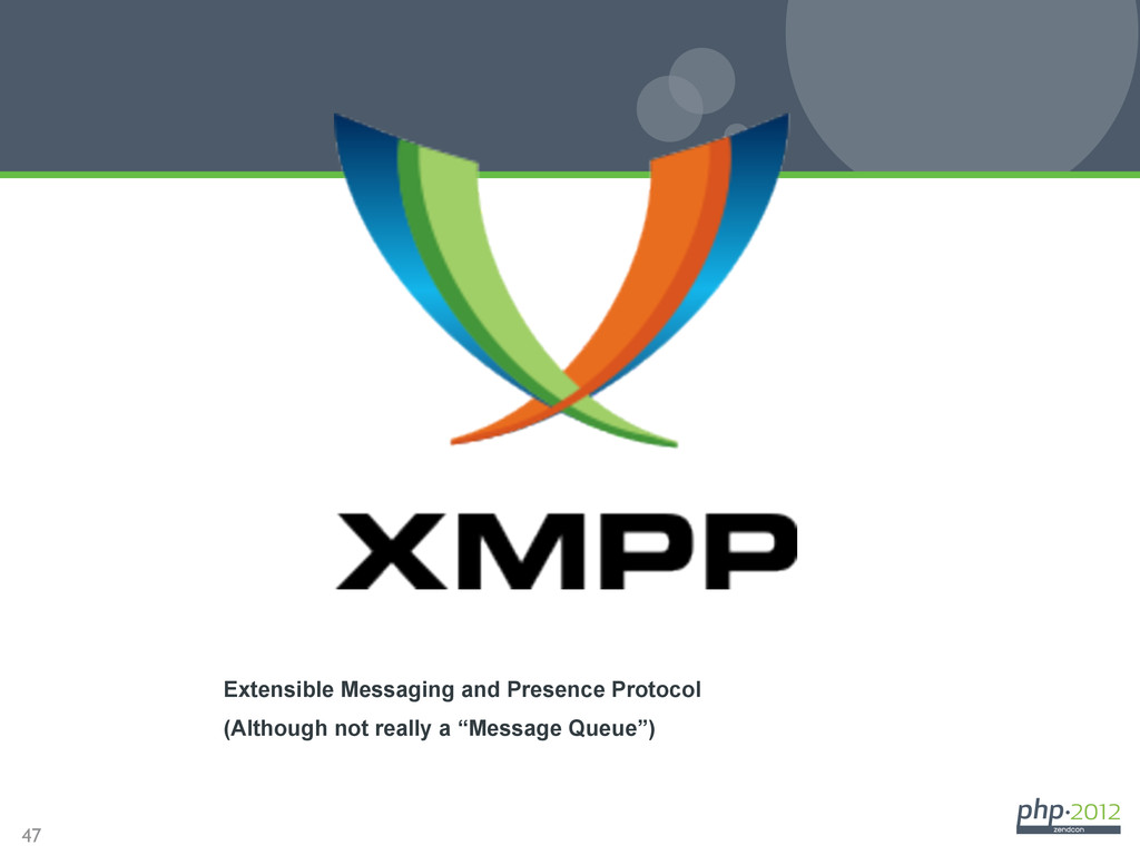 47 XMPP Extensible Messaging and Presence Proto...