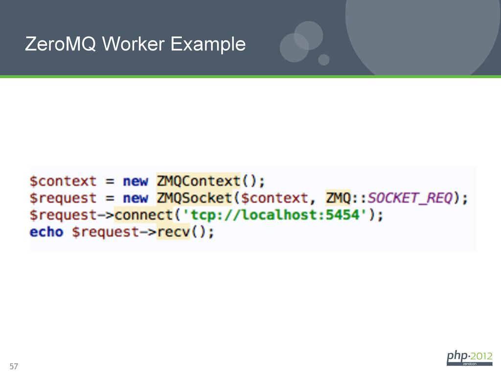 57 ZeroMQ Worker Example