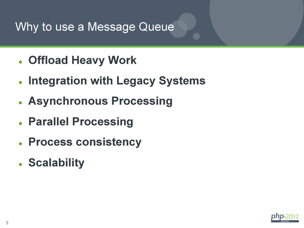 9 l Offload Heavy Work l Integration with L...